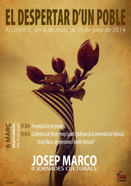 CARTELL JOSEP MARCO 2014-2
